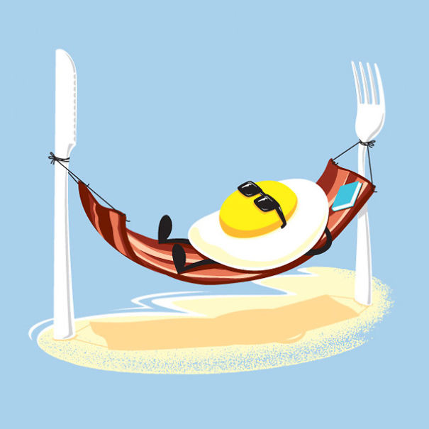 Топовые нарисованные картинки еда и напитки (5)