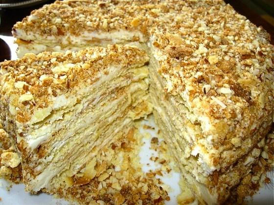 Торт наполеон красивые картинки (1)