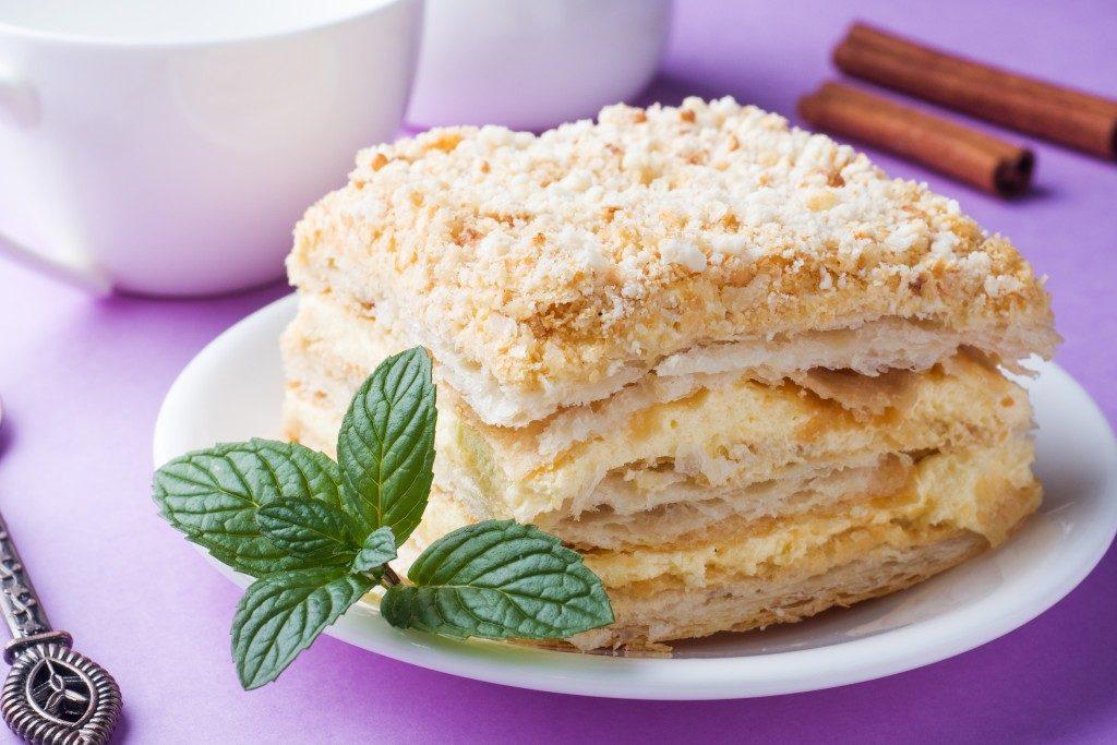 рецепты с картинками торта наполеон любящий