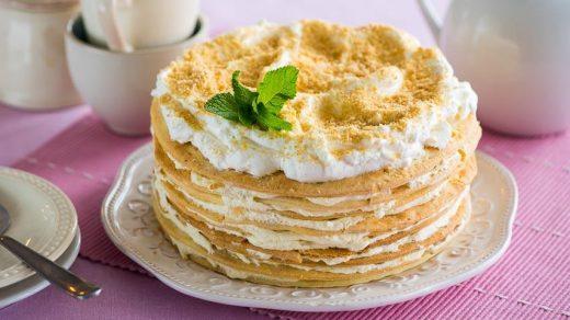 Торт наполеон красивые картинки (6)