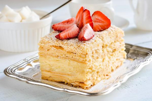 Торт наполеон красивые картинки (8)