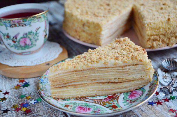 Торт наполеон красивые картинки (9)