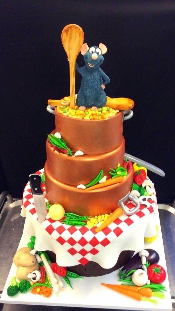 Торт рататуй фото красивые002