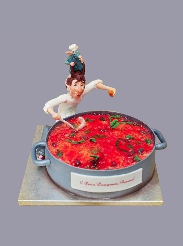 Торт рататуй фото красивые003