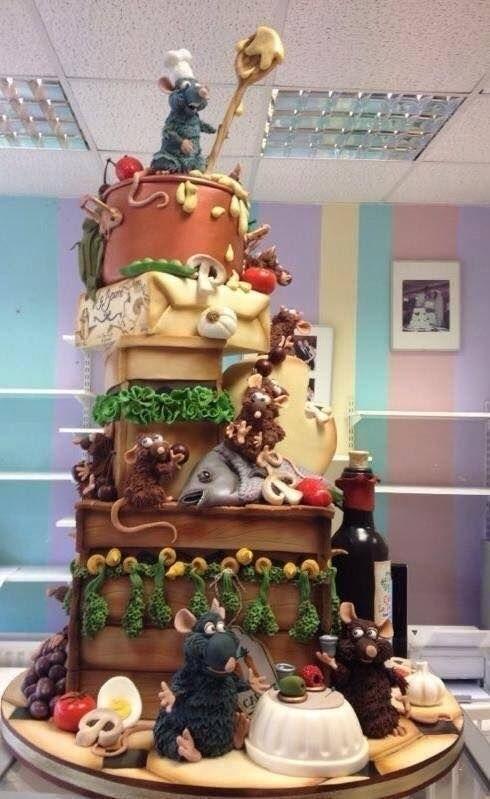 Торт рататуй фото красивые017