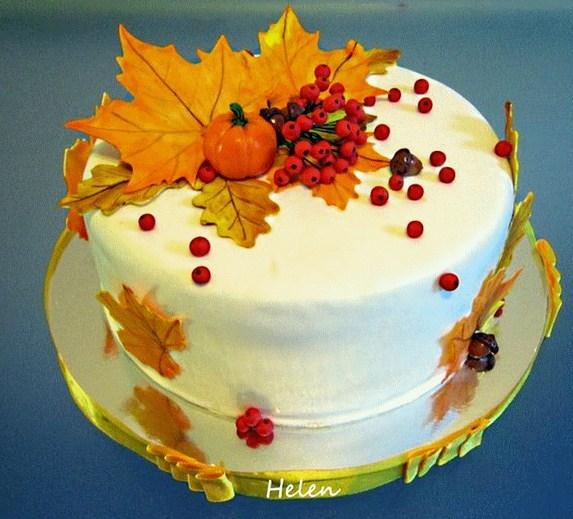 Торт своими руками осенний001