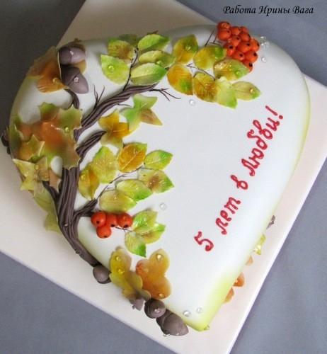 Торт своими руками осенний011