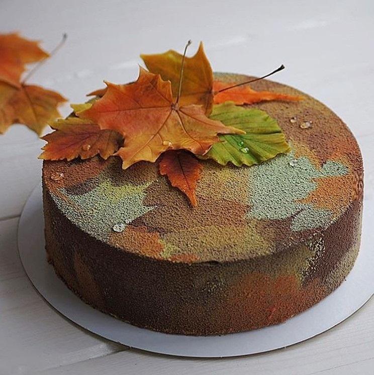 Торт своими руками осенний019