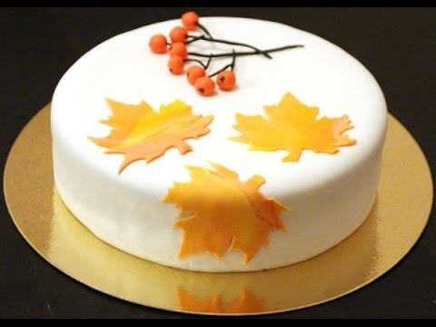 Торт своими руками осенний021