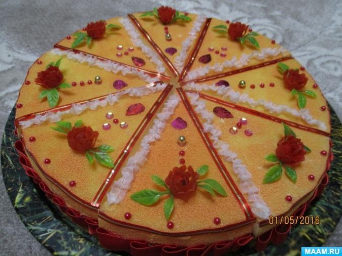 Торт своими руками осенний024