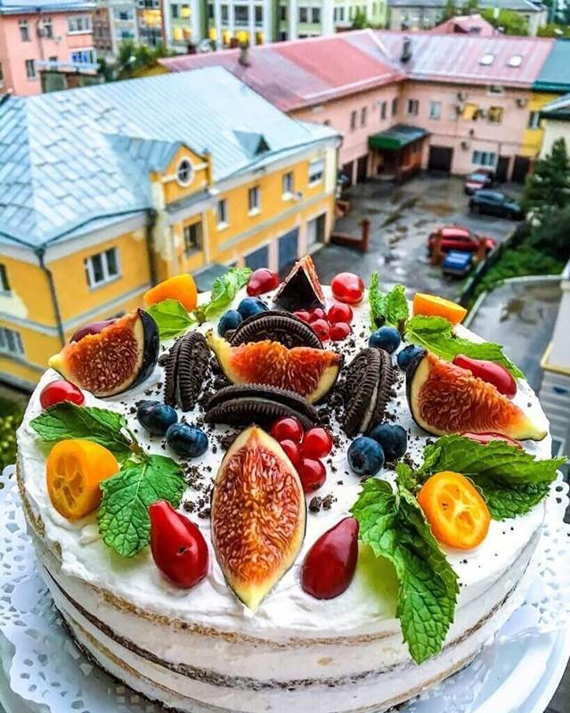 Торт своими руками осенний026