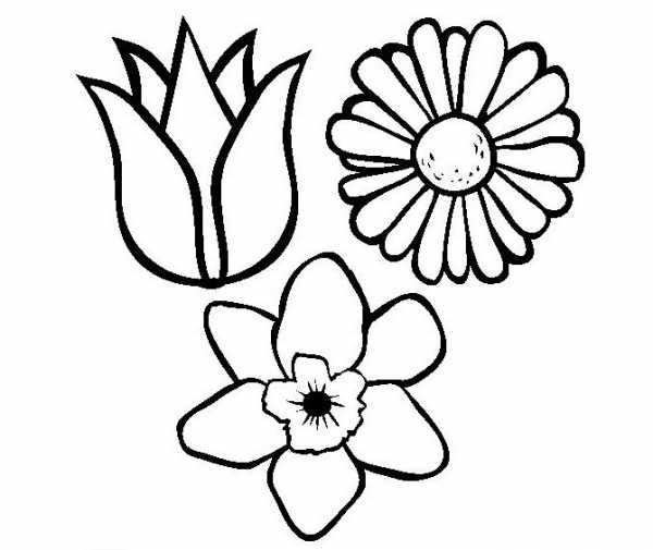 Трафарет колокольчики цветы - картинки (12)
