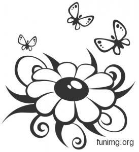 Трафарет колокольчики цветы - картинки (23)