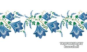 Трафарет колокольчики цветы - картинки (25)