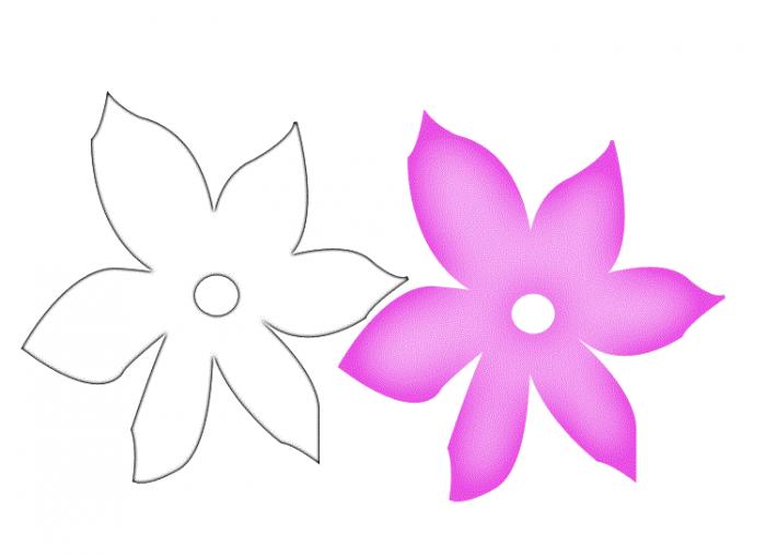 Трафарет колокольчики цветы - картинки (34)