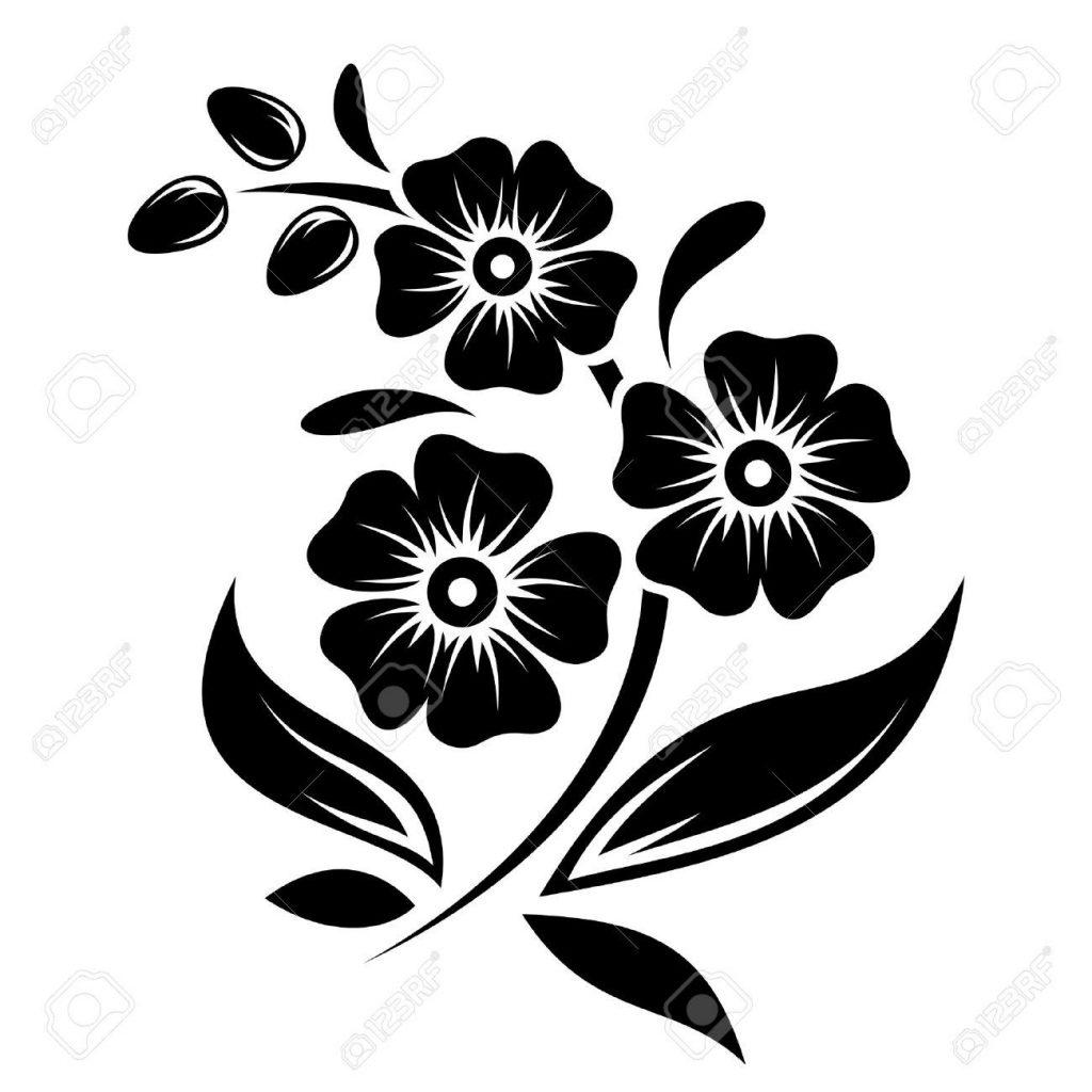 Трафарет колокольчики цветы - картинки (35)