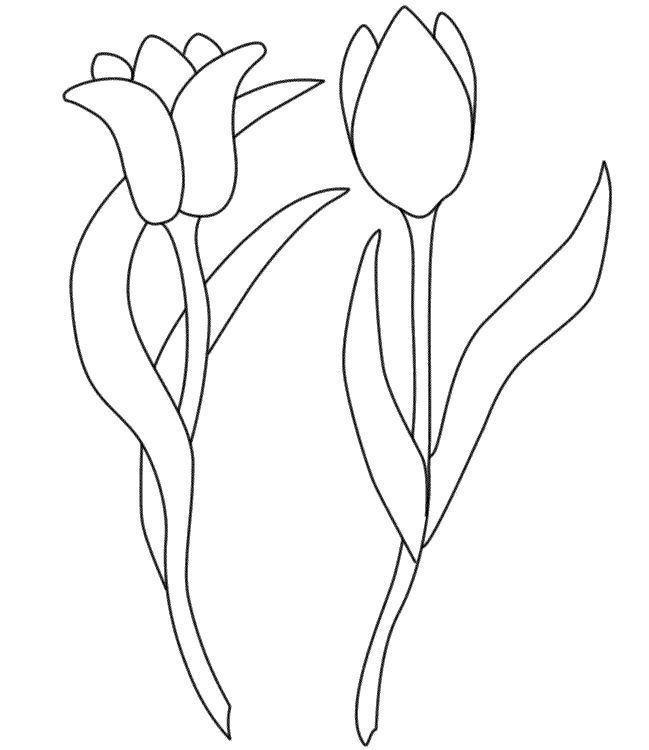 Трафарет колокольчики цветы - картинки (5)