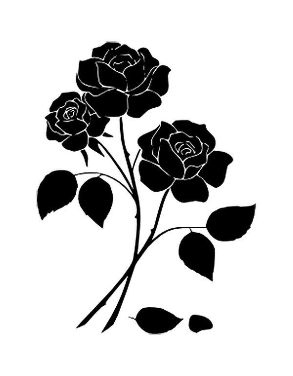 Трафарет колокольчики цветы - картинки (7)