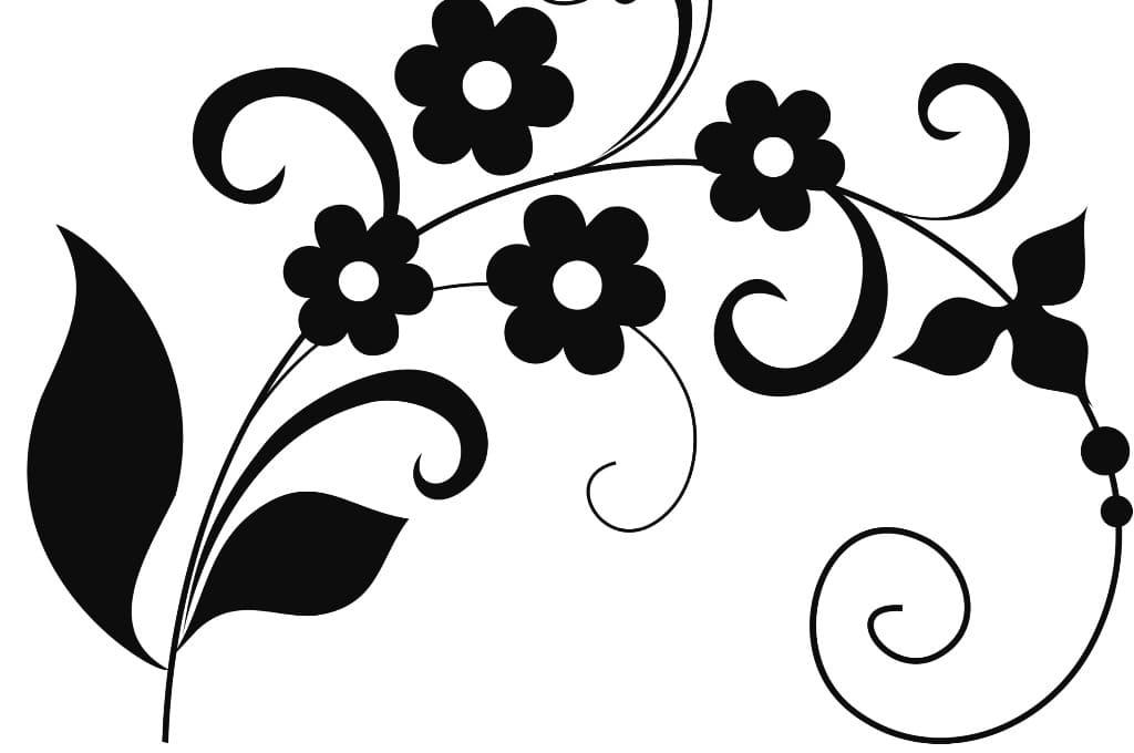 Трафарет колокольчики цветы   картинки (8)