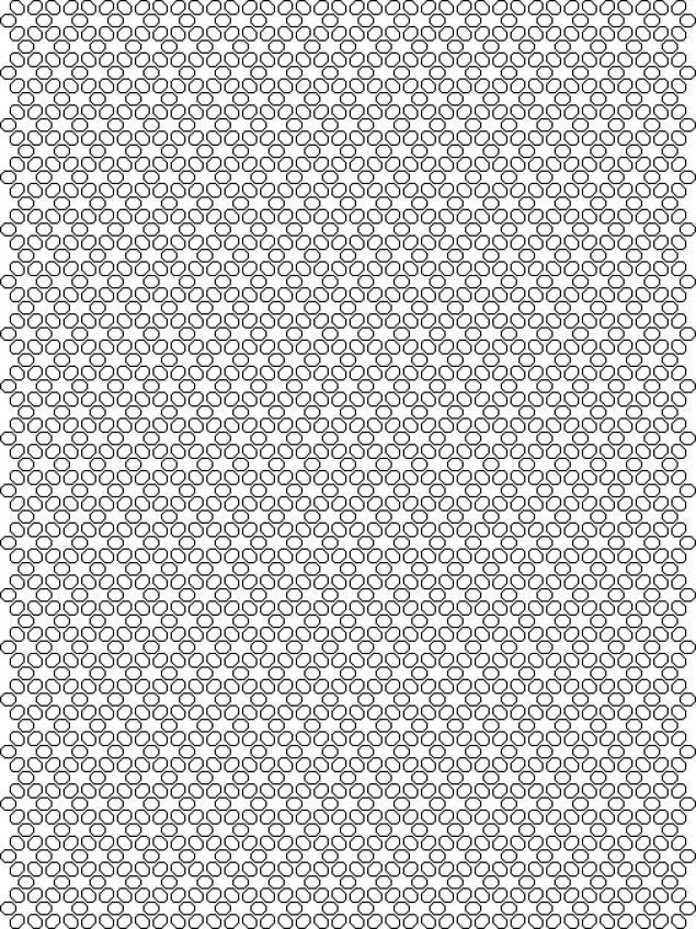 Трафарет пчелиные соты - подборка 20 фото (12)