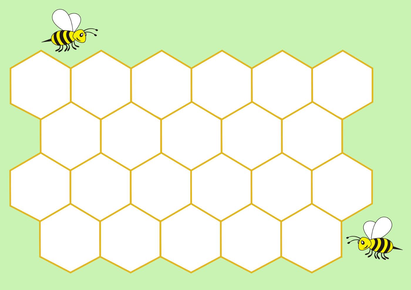 Трафарет пчелиные соты   подборка 20 фото (13)