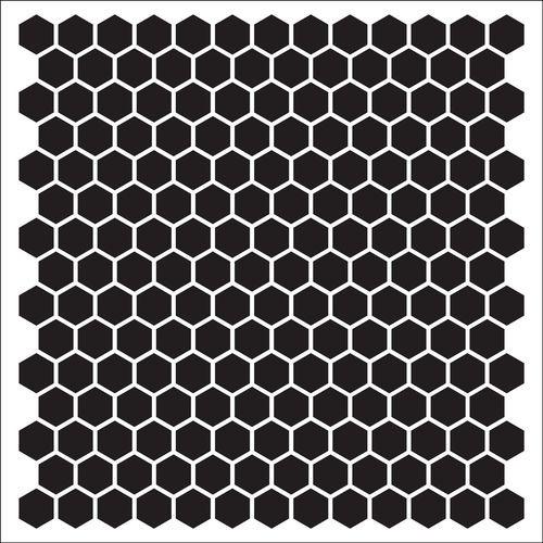 Трафарет пчелиные соты - подборка 20 фото (15)