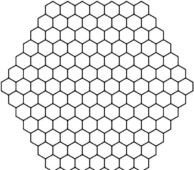 Трафарет пчелиные соты - подборка 20 фото (18)