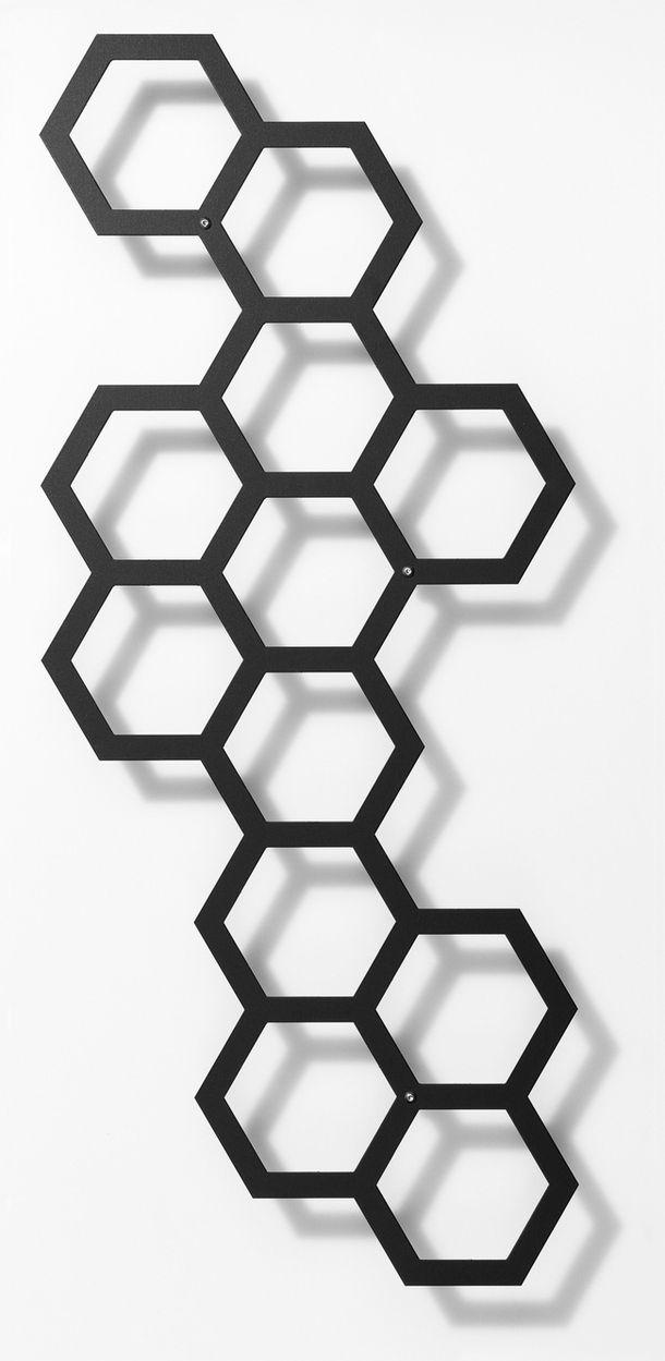 Трафарет пчелиные соты   подборка 20 фото (2)