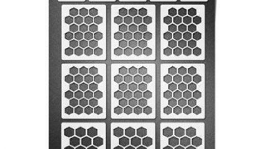 Трафарет пчелиные соты   подборка 20 фото (5)