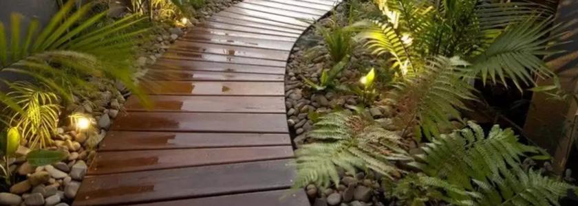 Тропинка из поддонов - красивые фото идеи (11)