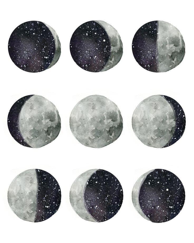 Удивительные картинки все фазы луны (1)