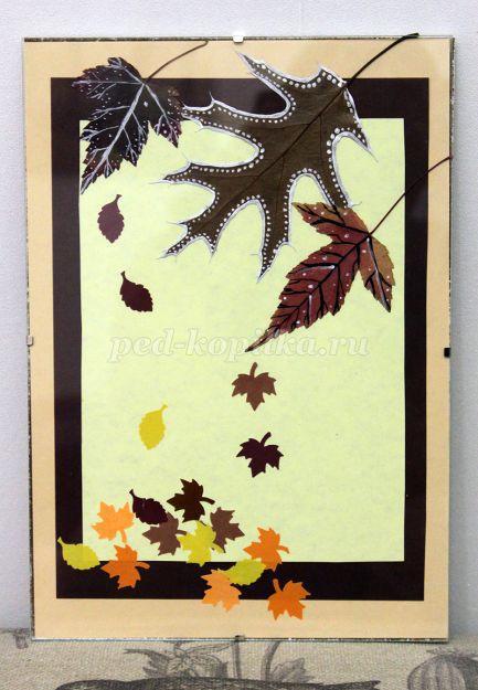 Удивительные коллажи из осенних листьев (20)