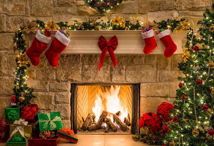 Удивительные фоны рождественские - 25 фото (18)
