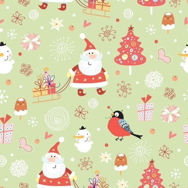 Удивительные фоны рождественские - 25 фото (2)