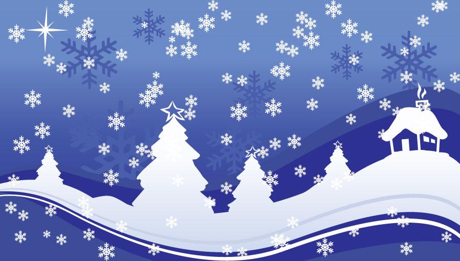 Удивительные фоны рождественские - 25 фото (21)