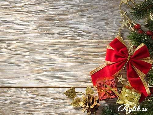 Удивительные фоны рождественские - 25 фото (4)