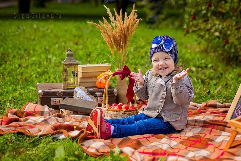 Фотопроект осень для детей023