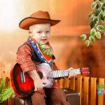 Фотосессия ковбои дети — фото идеи