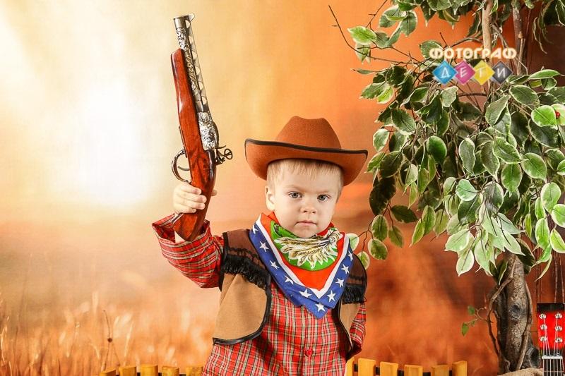 Фотосессия ковбои дети006
