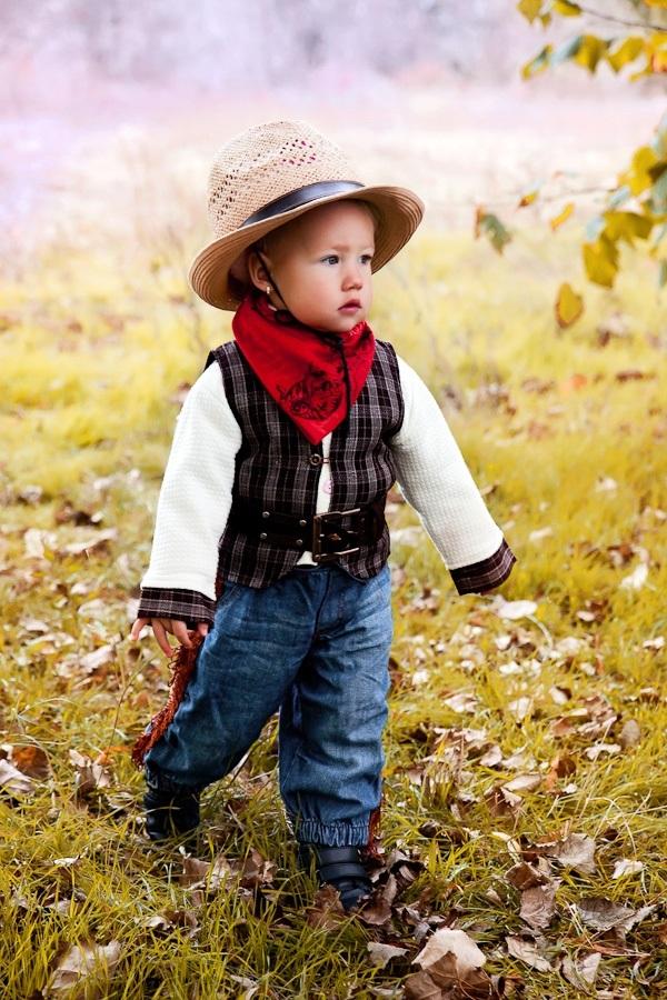 Фотосессия ковбои дети012