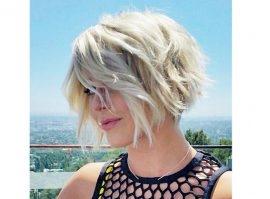 Фото блондинок со спины со средними волосами осенью014