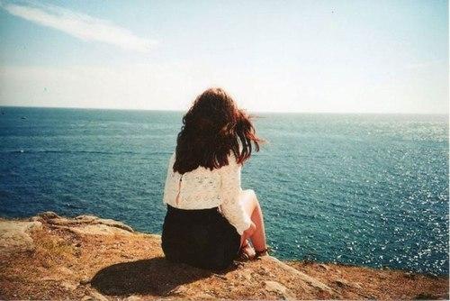 Фото девушек красивых брюнеток на аву со спины009