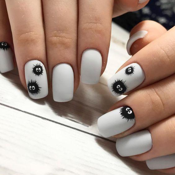 Фото идеи ногти животные дизайн006