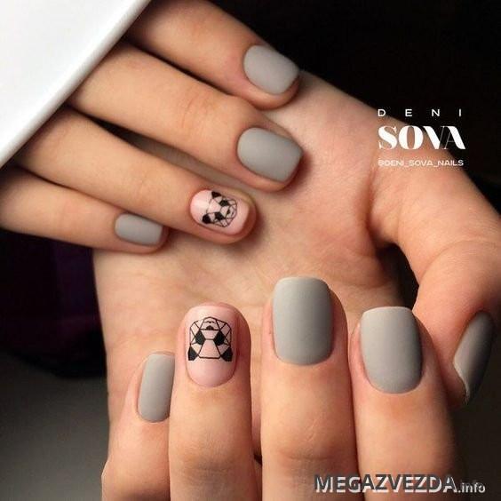 Фото идеи ногти животные дизайн010