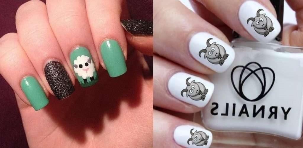 Фото идеи ногти животные дизайн011