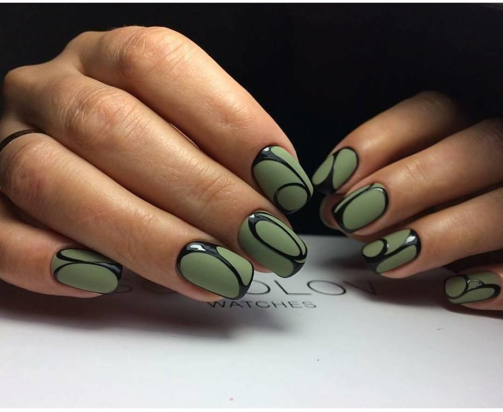 Фото идеи ногти животные дизайн015