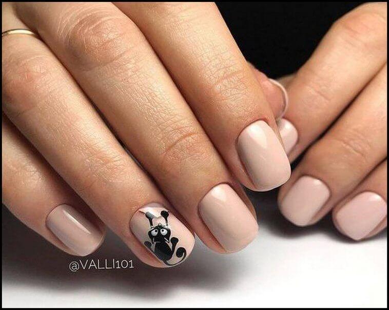 Фото идеи ногти животные дизайн018