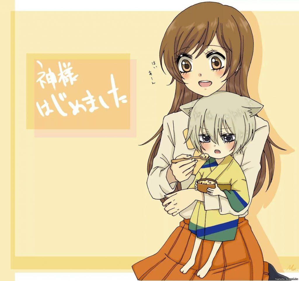 Фото из аниме Очень приятно бог Нанами