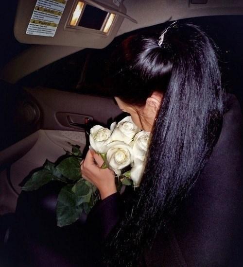 Фото красивых девушек на аву брюнеток со спины012