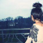 Фото на аву брюнеток с длинными волосами со спины